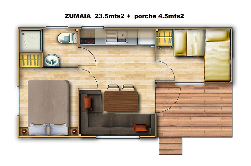 bungalow-zumaia-plan