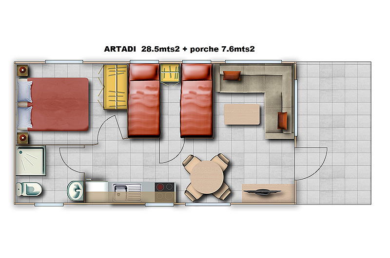 bungalow-artadi-plan